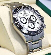 Rolex Daytona 116500LN Chrono Oyster Black Ceramic Bezel Watch BOX/PAPER *NEW*