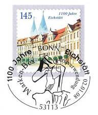 BRD 2008: Eichstätt 1100 Jahre! Selbstklebende Nr 2643 mit Bonn-Stempel! 1A 1607