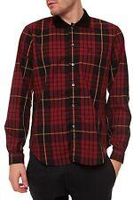 Karierte Normale Klassische Herrenhemden mit Krempelärmel-Ärmelart ohne Mehrstückpackung