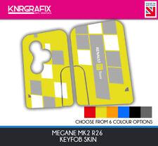 KNR0106 - MEGANE MK2 F1 RS R26 RENAULT SPORT R26 KEYFOB SKIN - KEY STICKER