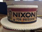 Nixon for President Styrogoam hat esrly campaign