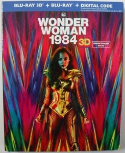 Wonder Woman 1984 3D (Blu-ray 3D + Blu-ray + Digital, Complete & Factory Sealed)