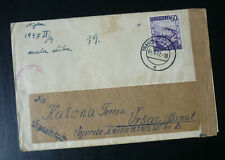 1947 Cover Sent From Traun Austria to Vrsac Serbia B3