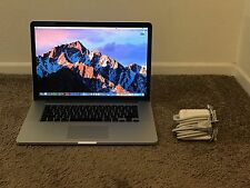 "MacBook Pro (Retina) Early 2013 15"" 2.8 GHz i7 512GB SSD 16GB RAM CS6 & More!"