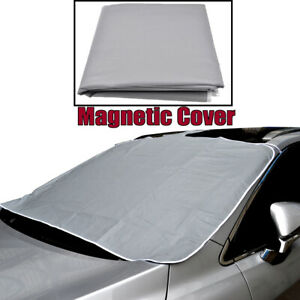 windshield cover Thicken Magnetic Defense Snow Ice UV Frost water proof Car warm