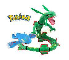2PCS Pokemon Rayquaza and Kyogre Figure Stuffed Plush Doll Toy Gift