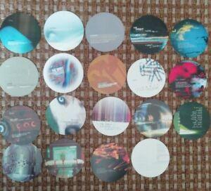 The Orbit @ Afterdark, Morley, Leeds. 19 flyers, '99-'02  Jeff mills, Bolland