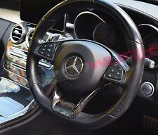 Carbonwurks Mercedes Benz Carbon Fibre Steering Wheel Trim - A,C, CLA, E, AMG GT