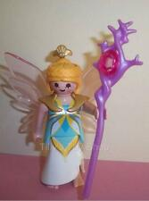Playmobil        Fairy Lady Figure & Staff with Jewel for Magic Castle sets -NEW