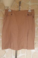 Jupe marron neuve taille 44 marque ANTONELLE étiqueté à 89€