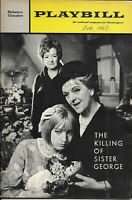 THE KILLING OF SISTER GEORGE Playbill 1967 Montreal World Expo Brochure LGBTQ+