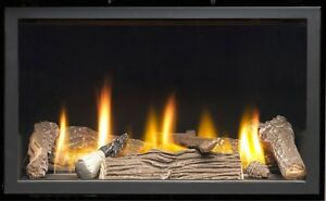 Vola 600 HE Frameless Gas Fire - High Efficiency Wall Mounted