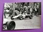 altes Foto Formel V Vau, L. Berger mit Original Autogramm, 70er Jahre, 12x16cm
