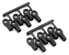RPM 80472 Traxxas 1/10 Scale Rod Ends- Short Black-Pivit Balls Not Included -