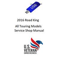 Service Manual For 2016 Harley Davidson Road King Touring Models