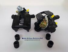 Rear ford sierra cosworth  4x4 vented 4WD Brake Calipers in BLACK 52060/61