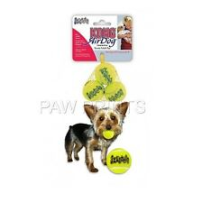 SMALL TOY BREED PUPPY EXTRA SMALL KONG SQUEAK AIR TENNIS BALLS 3 PACK NEW