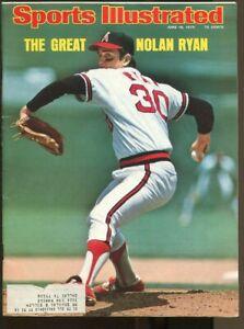 Nolan Ryan 1975 Sports Illustrated 6/16 Angels 74242