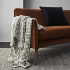 Sausalito Throw Rug - 125cm x 150cm - 100% Super Soft Premium Cotton Blanket