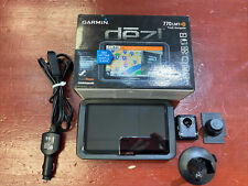 Garmin Dezl 770lm With Car Plug In and mount In original box Bundle