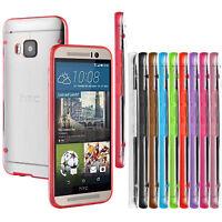 Ultra Fino Fino Transparente Funda Rígida Back Carcasa Para HTC One M7 M8 M9