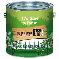 Paint IT! Metallschutzlack Grau Metallfarbe 1L 2,5L 5L 10L RAL 7030 Steingrau