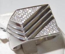 Gioielli da uomo zircone cubico in argento sterling