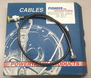 Speedometer Cable Pioneer CA-3017 - Made in USA