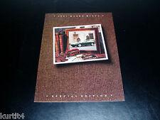 1991 Mazda Miata Special Edition sales brochure dealer catalog literature