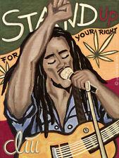 JACQUELINE DITT - The Legend  A4 DRUCK print n. Gemälde Bilder Giclee Bob Marley
