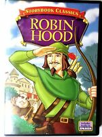 1985 Storybook Classics Robin Hood (2005 dvd) includes audio in English spanish