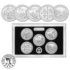 2019-S Silver Quarter ATB Proof Set -1st .999 silver quarters