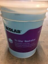 Ecolab 12083 Tri-Star Laundry Neutralizer 5 Gallons NEW! FREE SHIPPING!