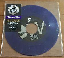 """Pantera & Poison idea-la insignia 7"""" púrpura Vinilo"""