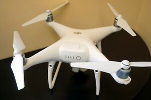 DJI Phantom 4 Pro Quadcopter Drone & GL300F Control +Xtras