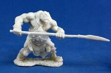 Reaper Bones 77045 Orc Hunter With Spear