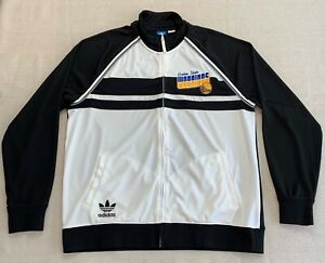 Adidas Golden State Warriors Men's 2XL XXL Full Zip Warm-up Track Jacket NBA