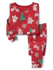 GAP Baby / Toddler Girls Size 4 Years / 4T Christmas Gift Fairy Pajamas PJ Set