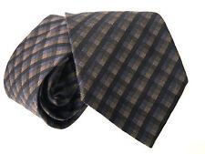 Paul Smith Cravatta Righe Cravatta Check 9cm Lama Made in Italy 100% Seta