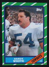1986 Topps Set Break Randy White Dallas Cowboys #133 Football Card NM-MT