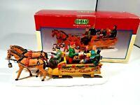 Lemax Village Collection Singin' Sleigh Ride Christmas Figure (Polyresin)