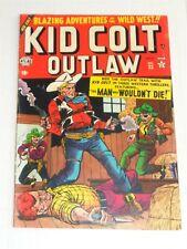 KID COLT OUTLAW #23 VG+ (4.5) NOVEMBER 1952 MARVEL ATLAS COMICS **