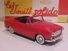 4 INCH Peugeot 403 1961 Solido 1/43 ALL Diecast Mint in Numbered Box