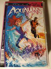 Future State Aquaman #1 (of 2) Cvr A Daniel Sampere Dc Comics Comic Book