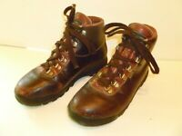 Vasque Womens Cowhide and Goretex Hiking Boots Brown Leather, size US 6 M