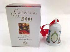 Hutschenreuther Weihnachtsglocke  2000   im original Karton