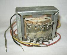 Stancor P 1834 3 Tube Tester Checker Filament Transformer Radio Vacuum