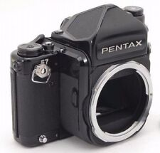 Pentax 67 6X7 Medium Format Camera Body, TTL Prism Finder, 2 Lugs, Dial Adapter①