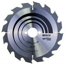 Bosch Lame de scie circulaire Speedline Wood 160 x 20 x 2,4 mm, 12