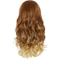 Hairaisers Balayage Ombre Glam Curl Three Quarter Hair Piece 22 inches 250g